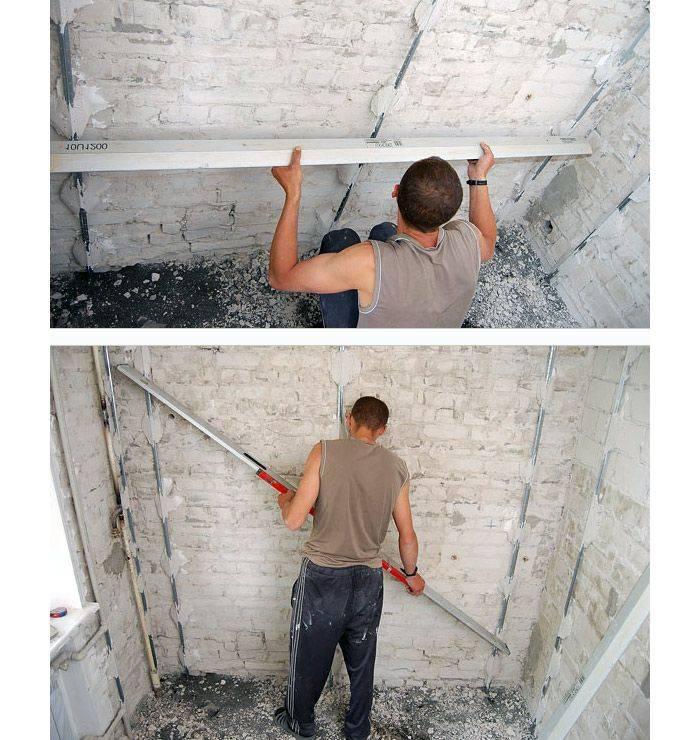 Штукатурка потолка своими руками : технология, инструкция, фото и видео