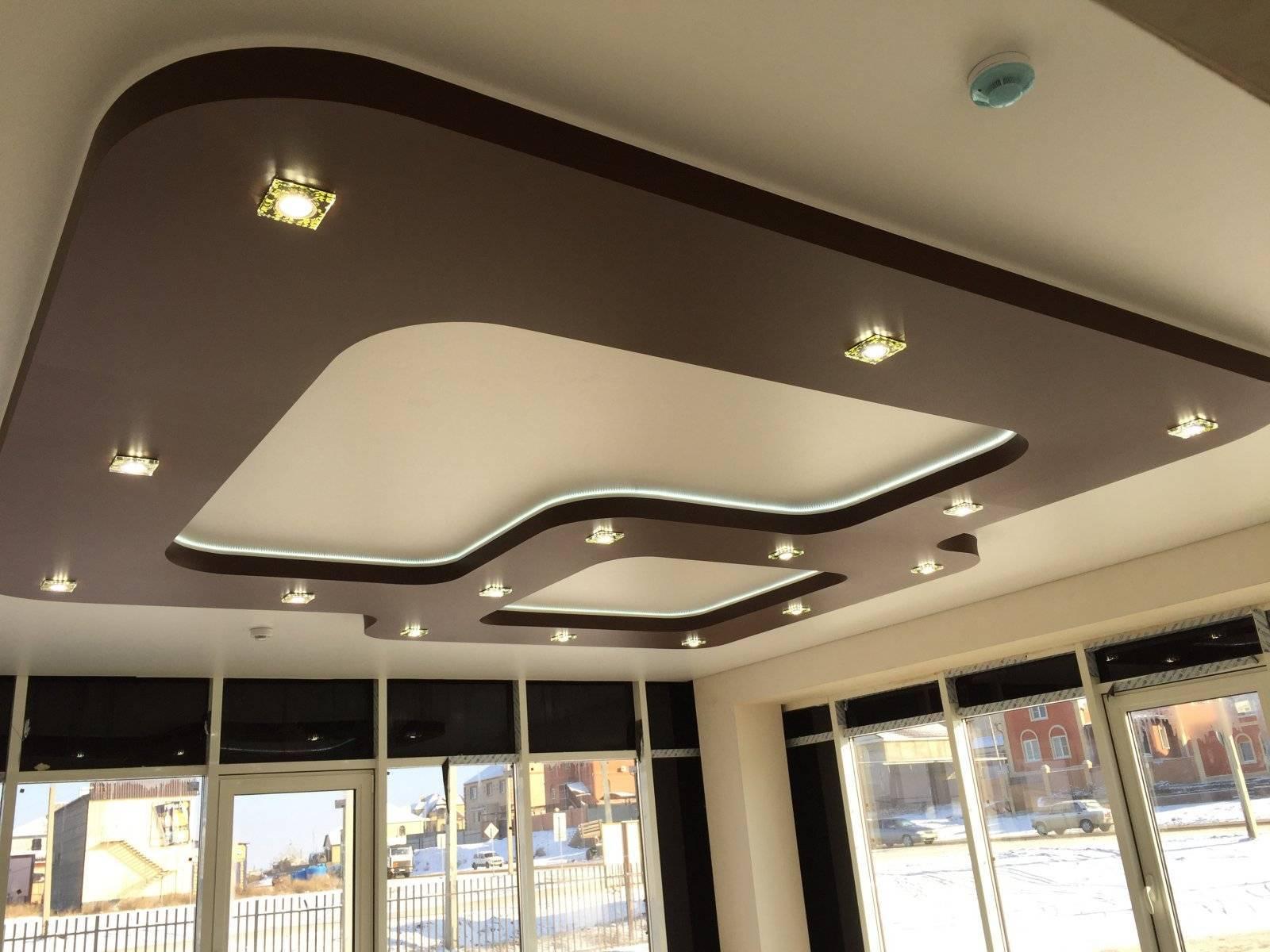 Разновидности подвесных потолков и материалы используемые для их выполнения