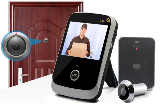 Видеоглазок для входной двери с записью и датчиком движения: как выбрать