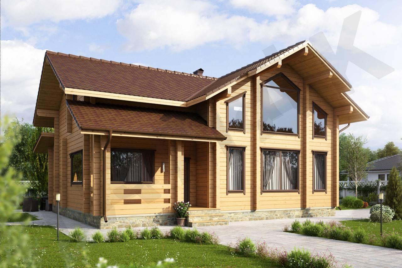 Дом из бруса селигер