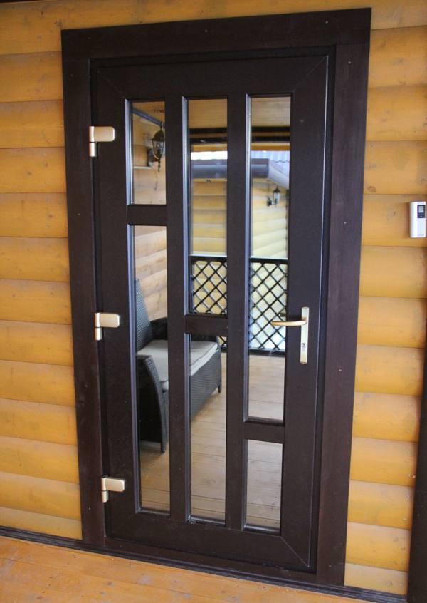 ➤ входные двери пвх (металлопластиковые) в частный дом | мы строители ✔1