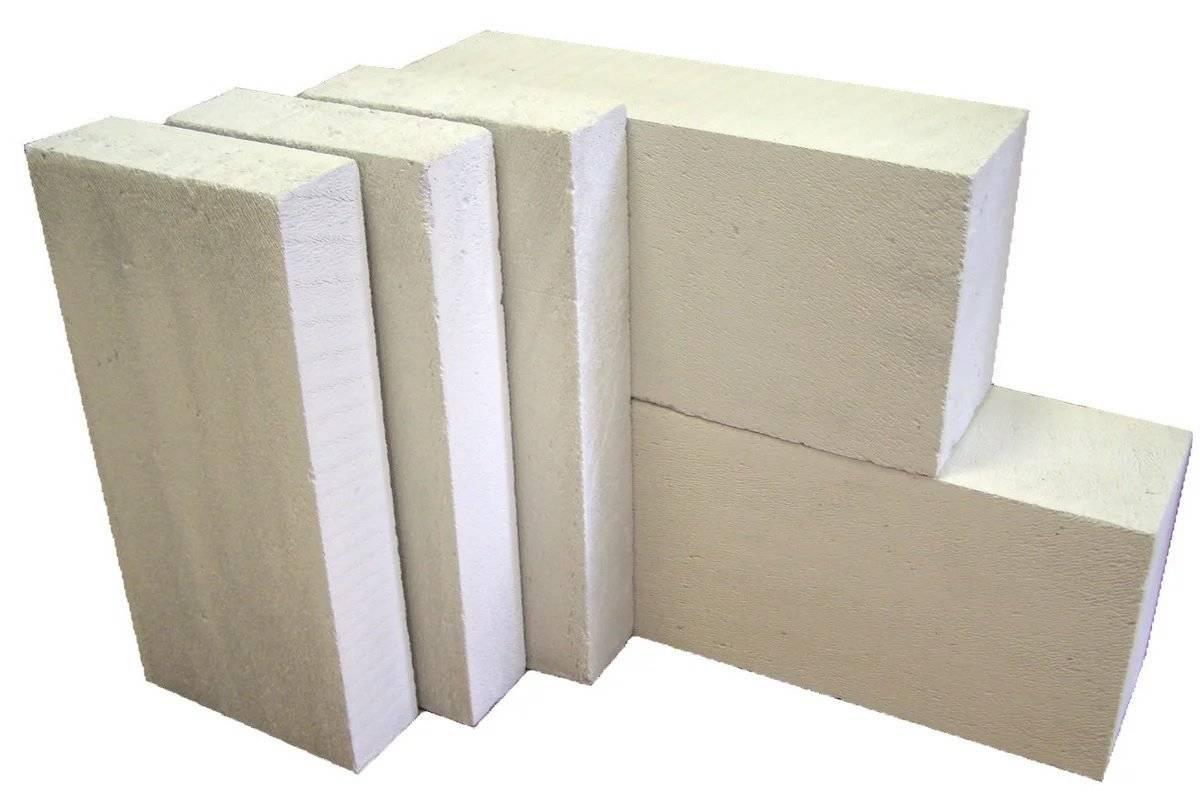 Блоки для строительства дома: виды и характеристики