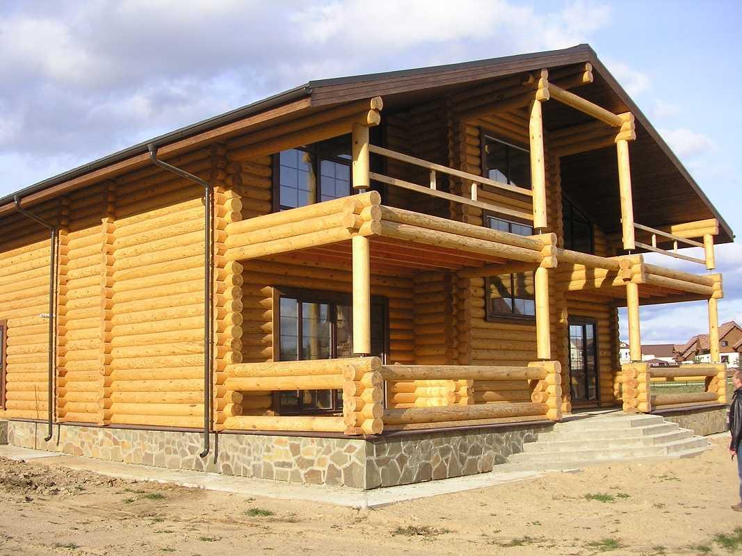 Дома из калиброванного бруса — быстрое строительство, экологичный микроклимат