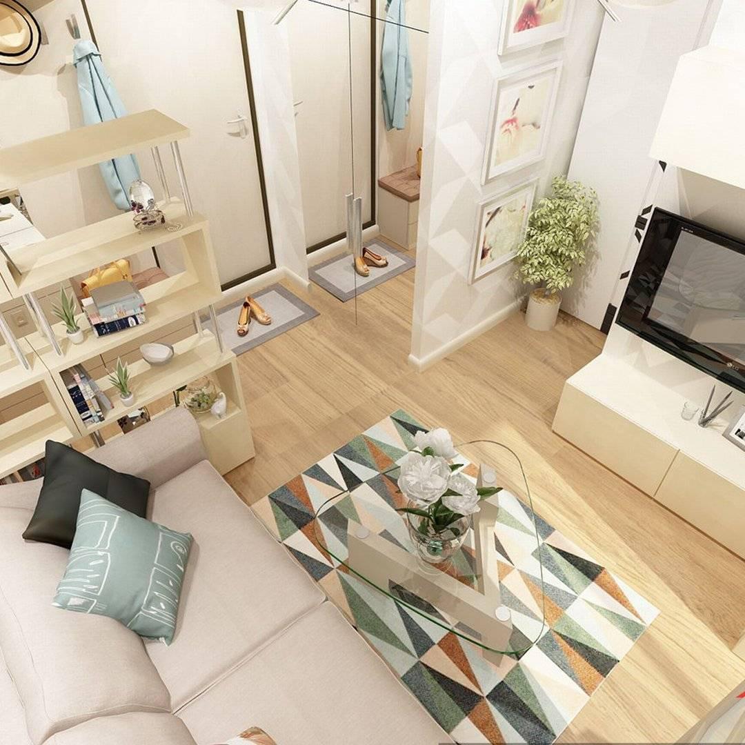 15 дизайнерских идей для малогабаритных квартир
