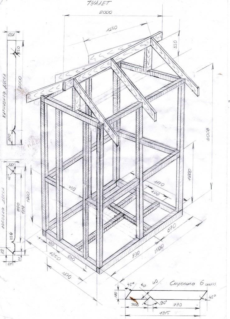 Как построить туалет на даче своими руками: размеры, чертежи, фото как построить туалет на даче своими руками: размеры, чертежи, фото