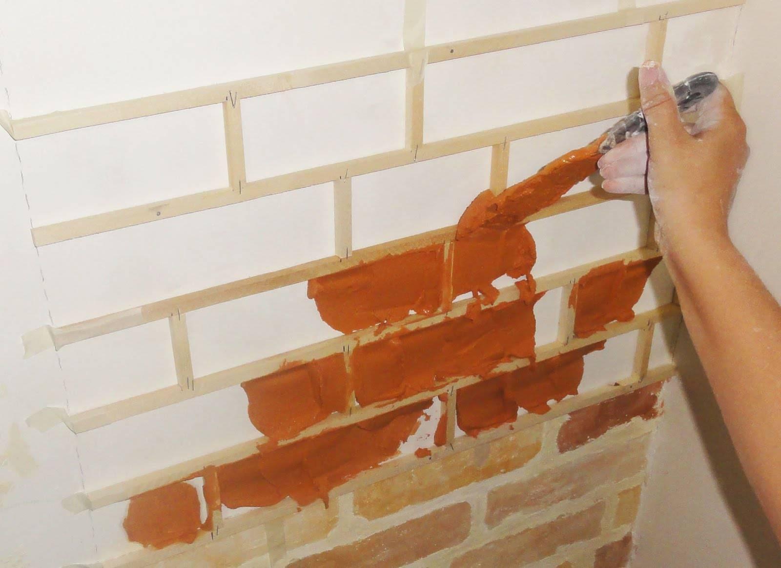 Имитация кирпичной стены: 120 фото лучших идей формирования декора