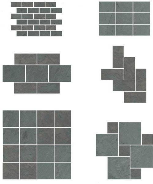 Керамогранитная плитка для стен и пола: форма, размеры, толщина