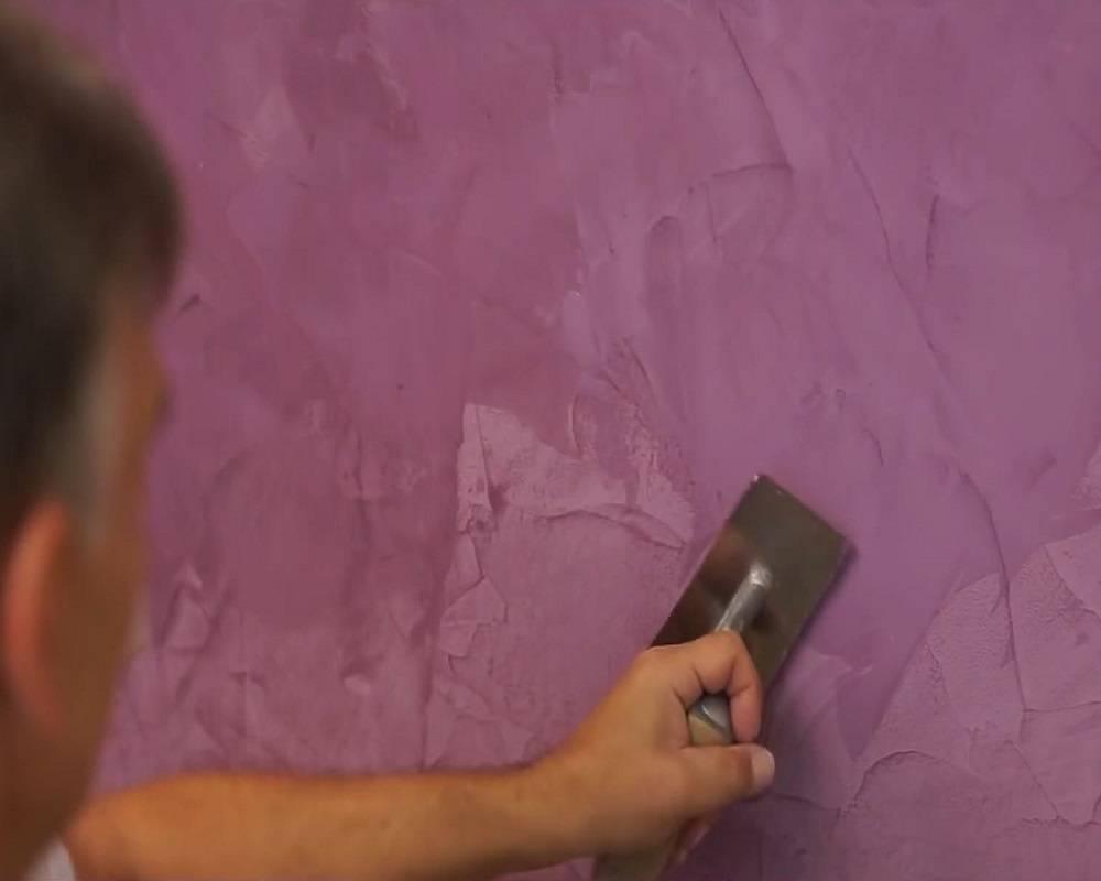 Декоративная венецианская штукатурка для внутренней отделки стен: где и по какой цене купить, как сделать и нанести своими руками, фото и видео