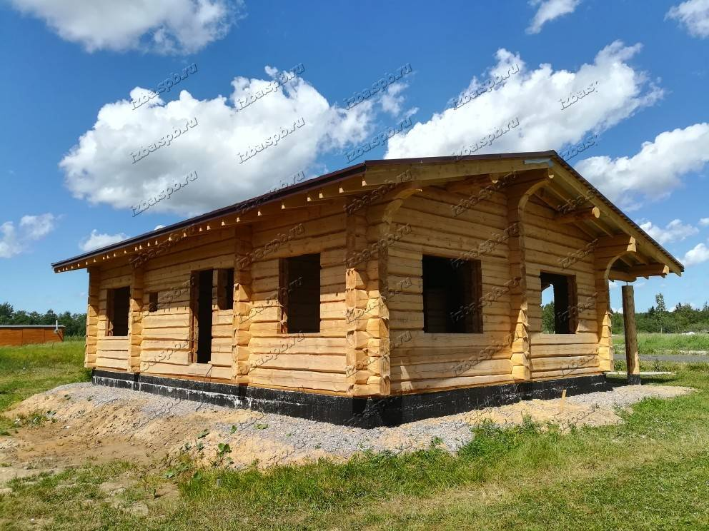 Строить дом из лафета. срубы из лафета — преимущества недостатки