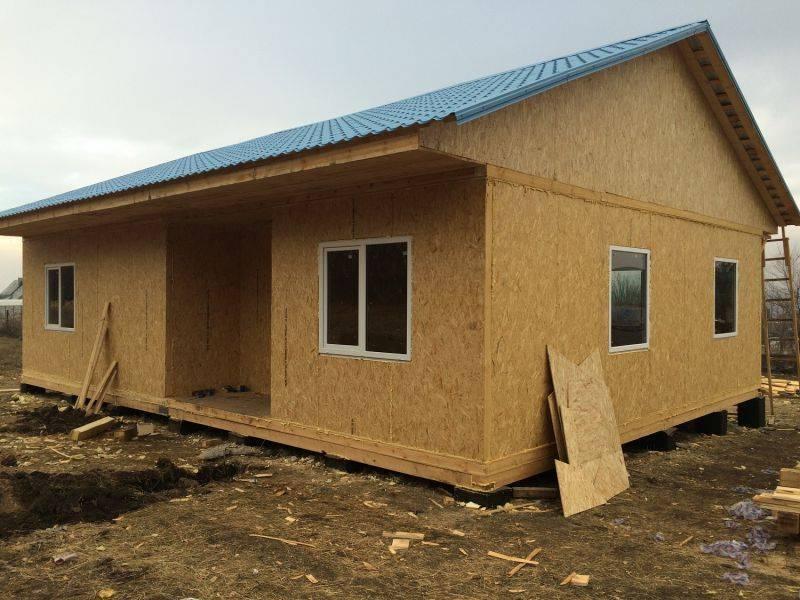 Деревянные щитовые и каркасно-щитовые дома