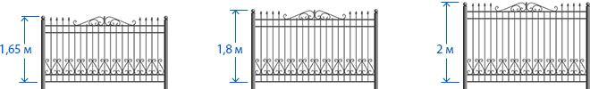 Красивый забор : изюминка для вашей усадьбы (65 фото)
