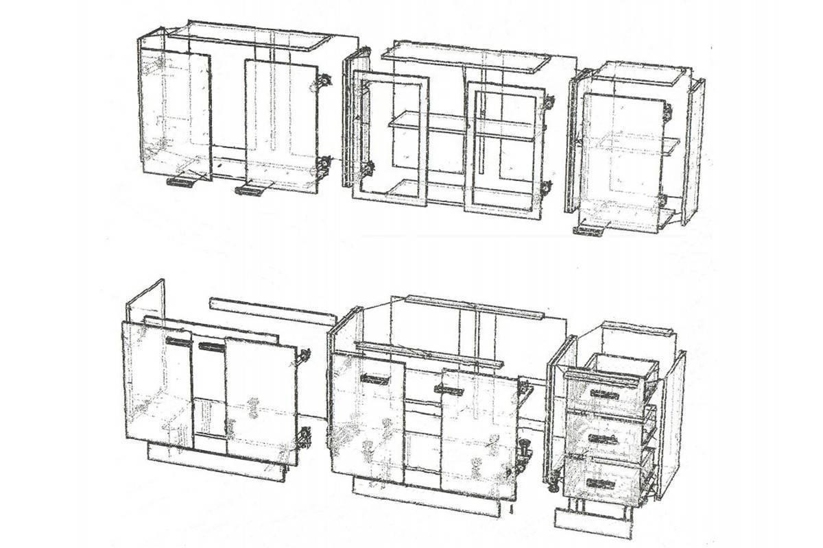 Как самодельно сделать современная кухонную мебель своими рукам