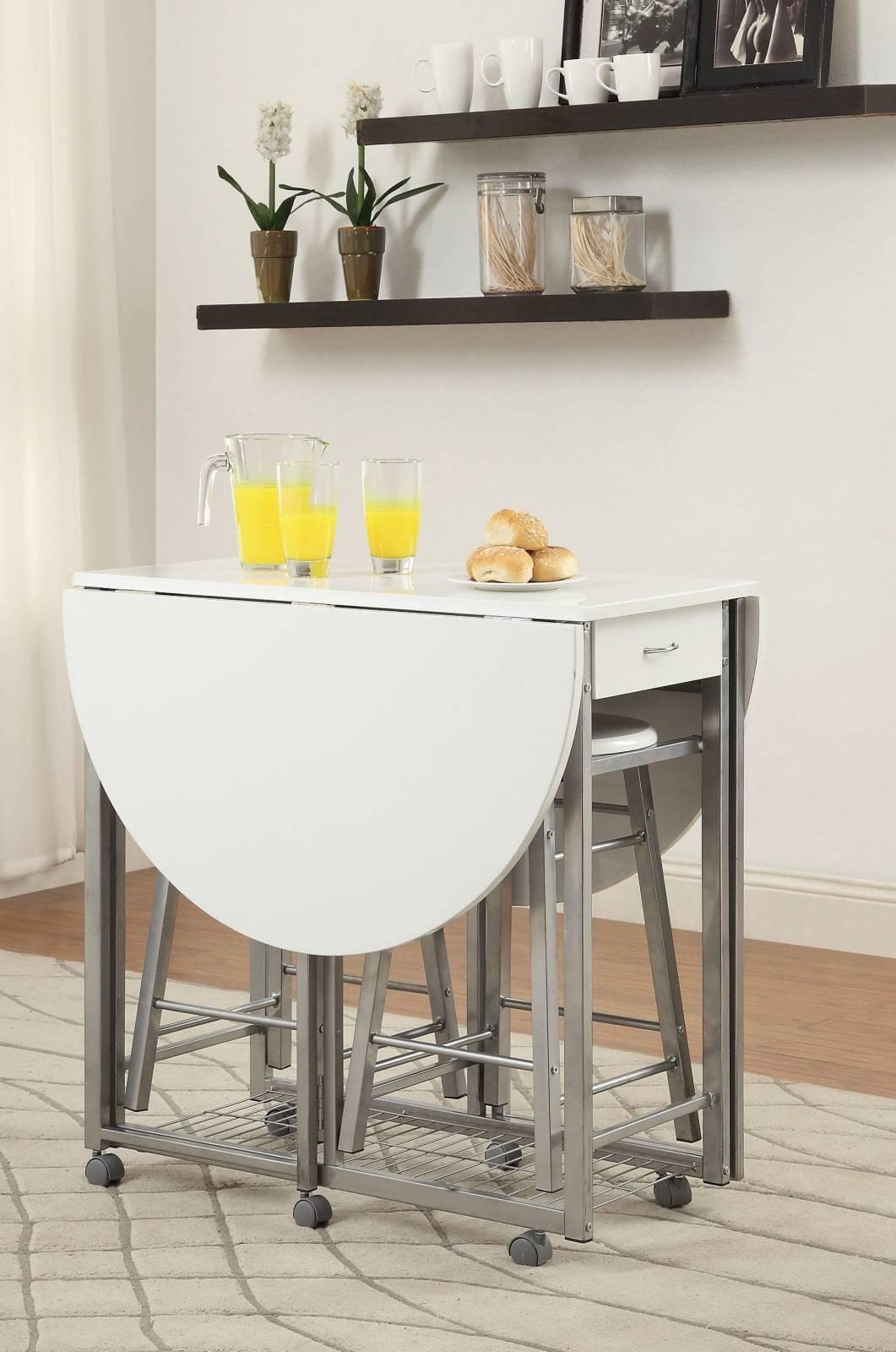 Стол кухонный раскладной: кухонная мебель в современном интерьере