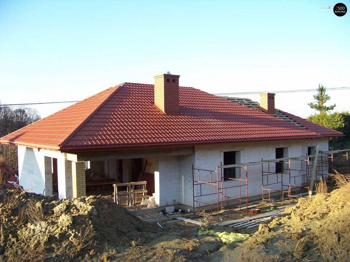Фото домов из пеноблоков: постройка одноэтажного дома