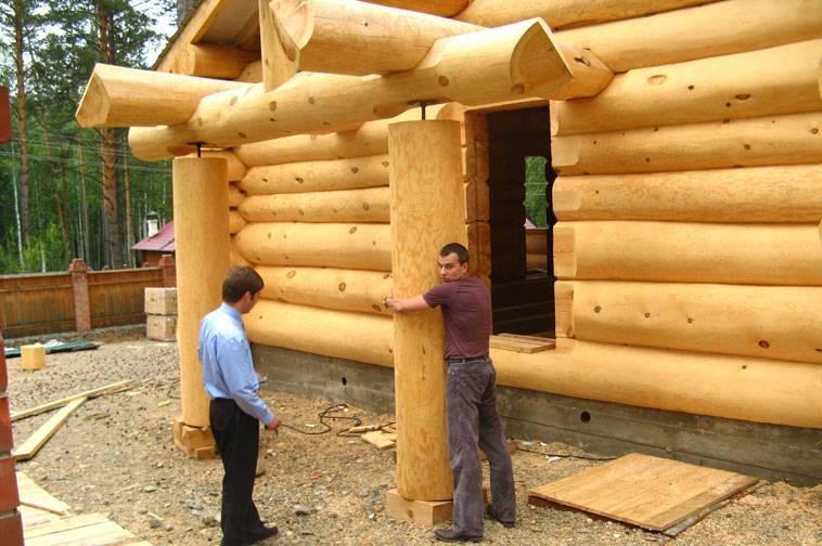 Технология строительства деревянных домов из бревна и бруса
