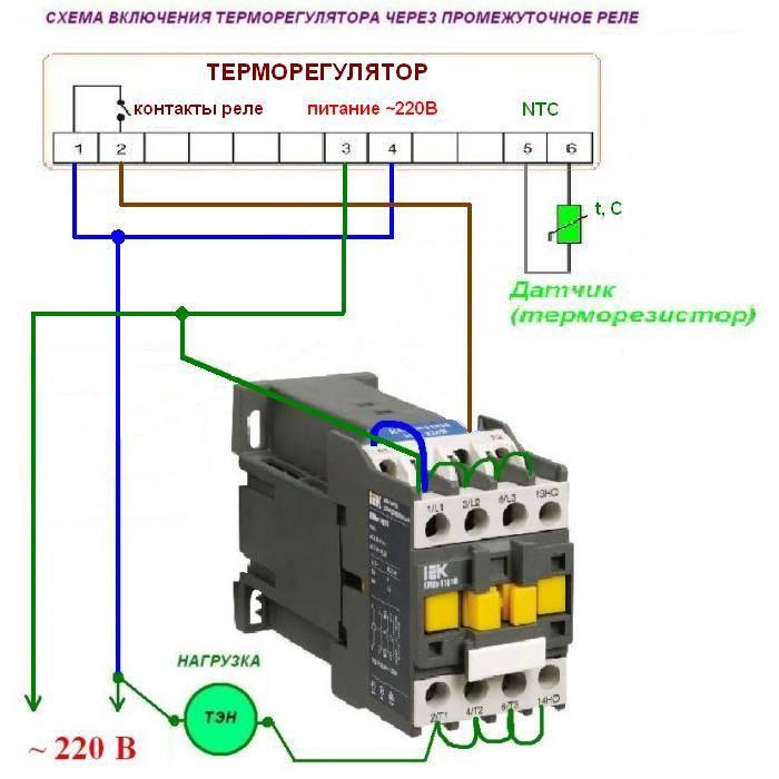 Магнитный пускатель. схемы подключения пускателей