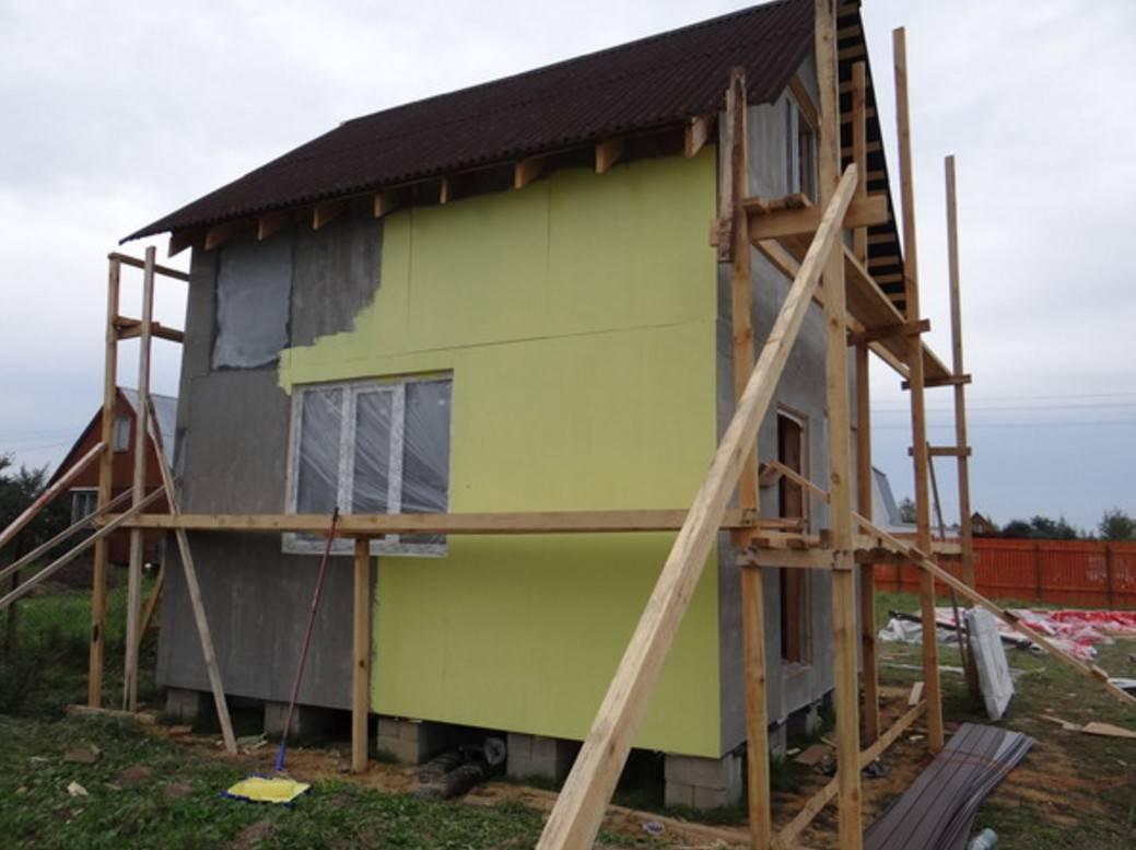 Фасад из цсп: монтаж и применение цементно-стружечных плит для наружной отделки дома