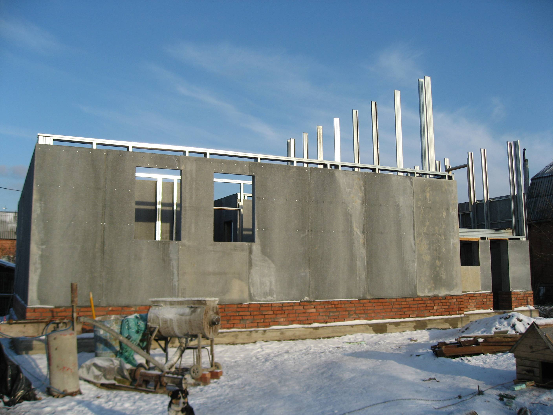 Строим дом из пенобетона своими руками + варианты проектов