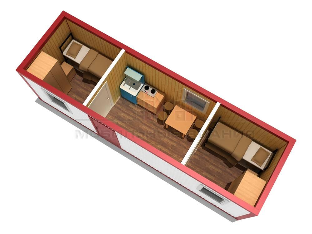 Дачные бытовки (95 фото): садовые двухкомнатные деревянные и металлические бытовки для дачи, утепленные угловые и другие варианты