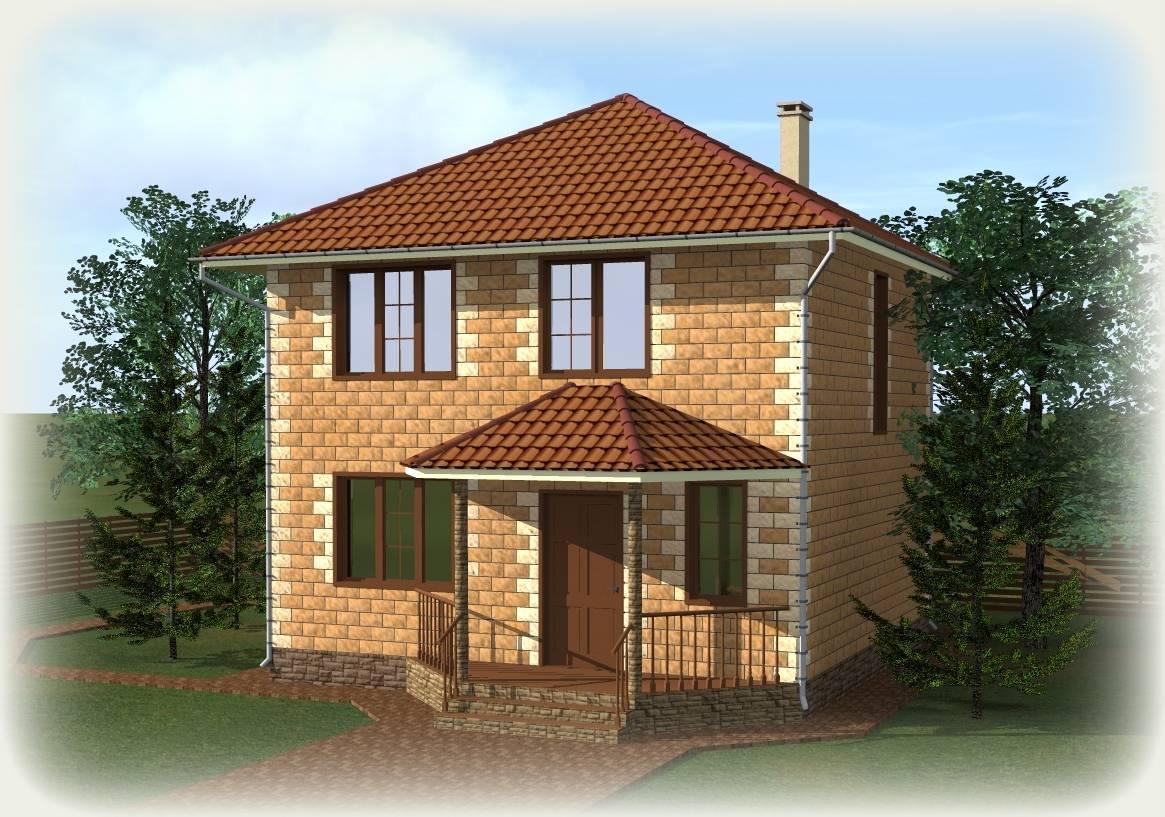 Стоимость дома из кирпича. подсчет площади стен и стоимости квадрата. расчет раствора, фундамента, кровли