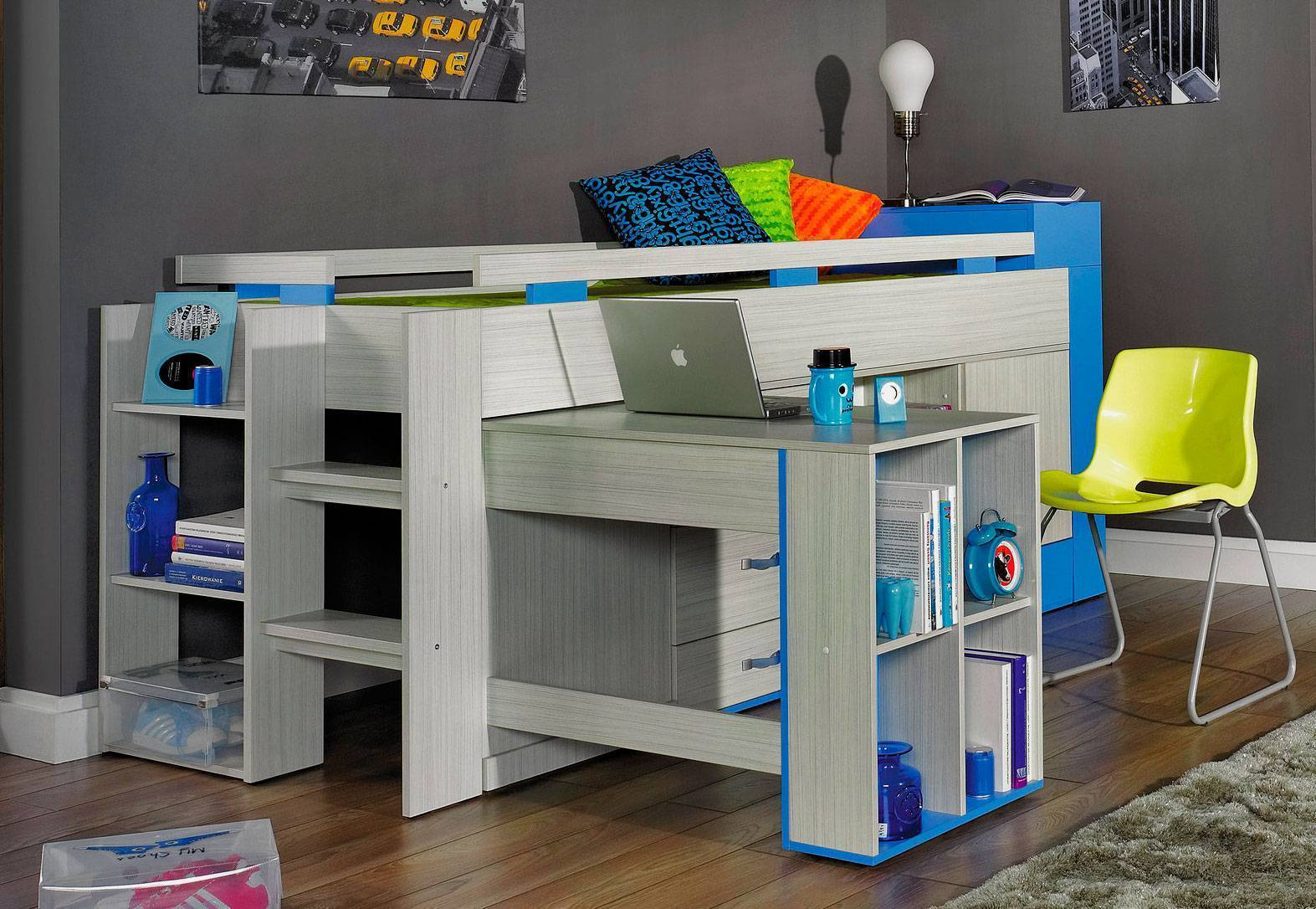 Выбираем кровать-чердак для детей
