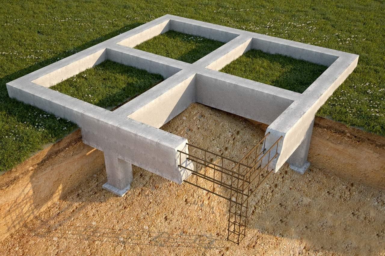 Изготовление фундамента для дома своими руками