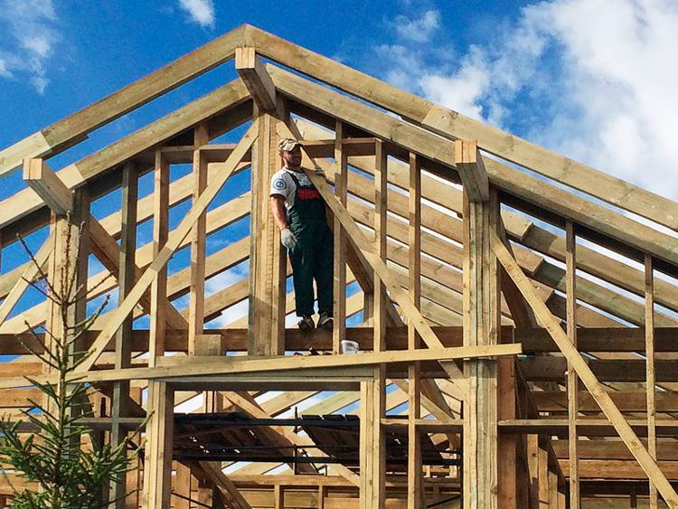 Скандинавский каркасный дом конструкция - о нюансах в строительных работах