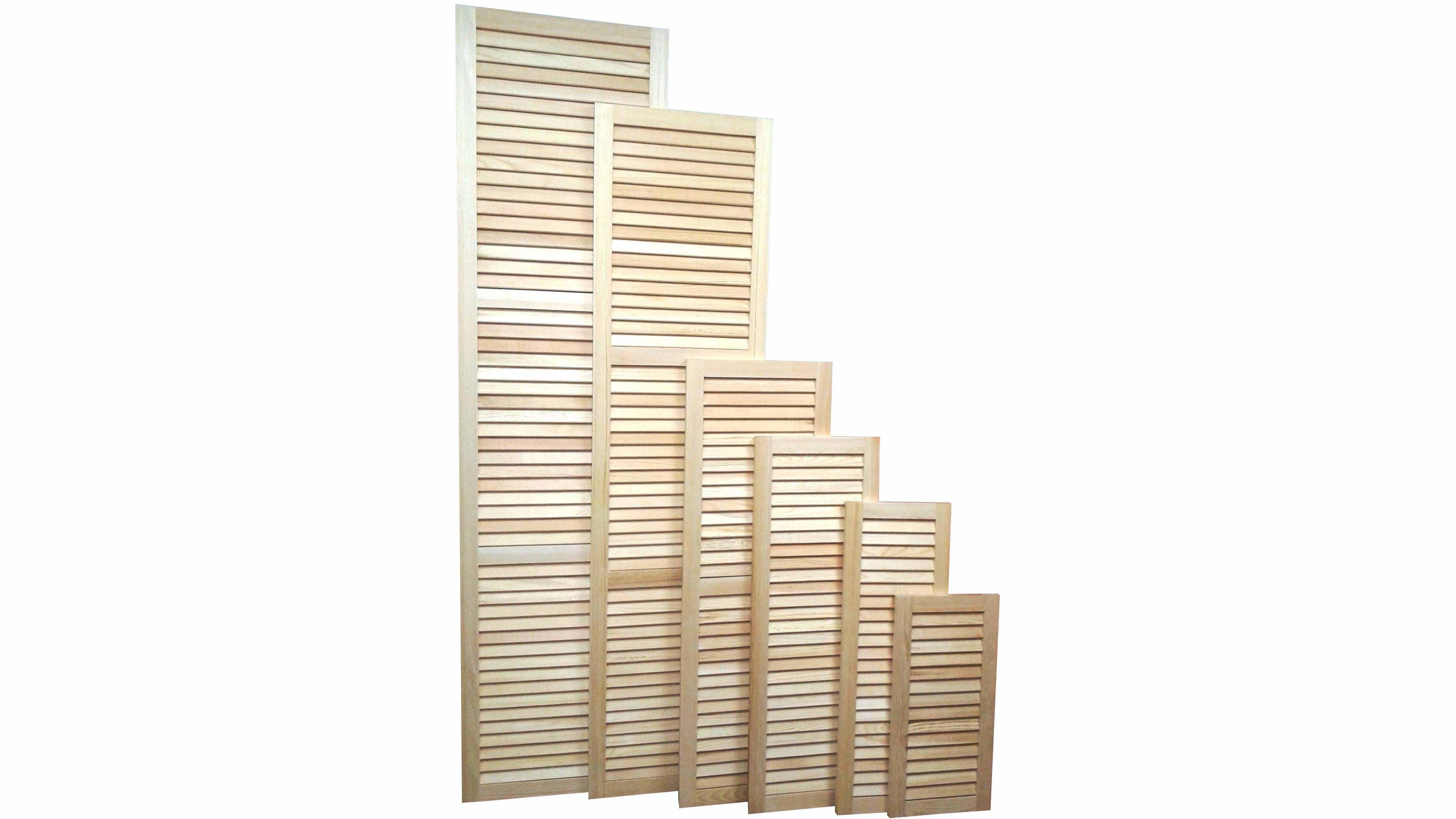 Двери-жалюзи: деревянные, пластиковые, металлические - постройки
