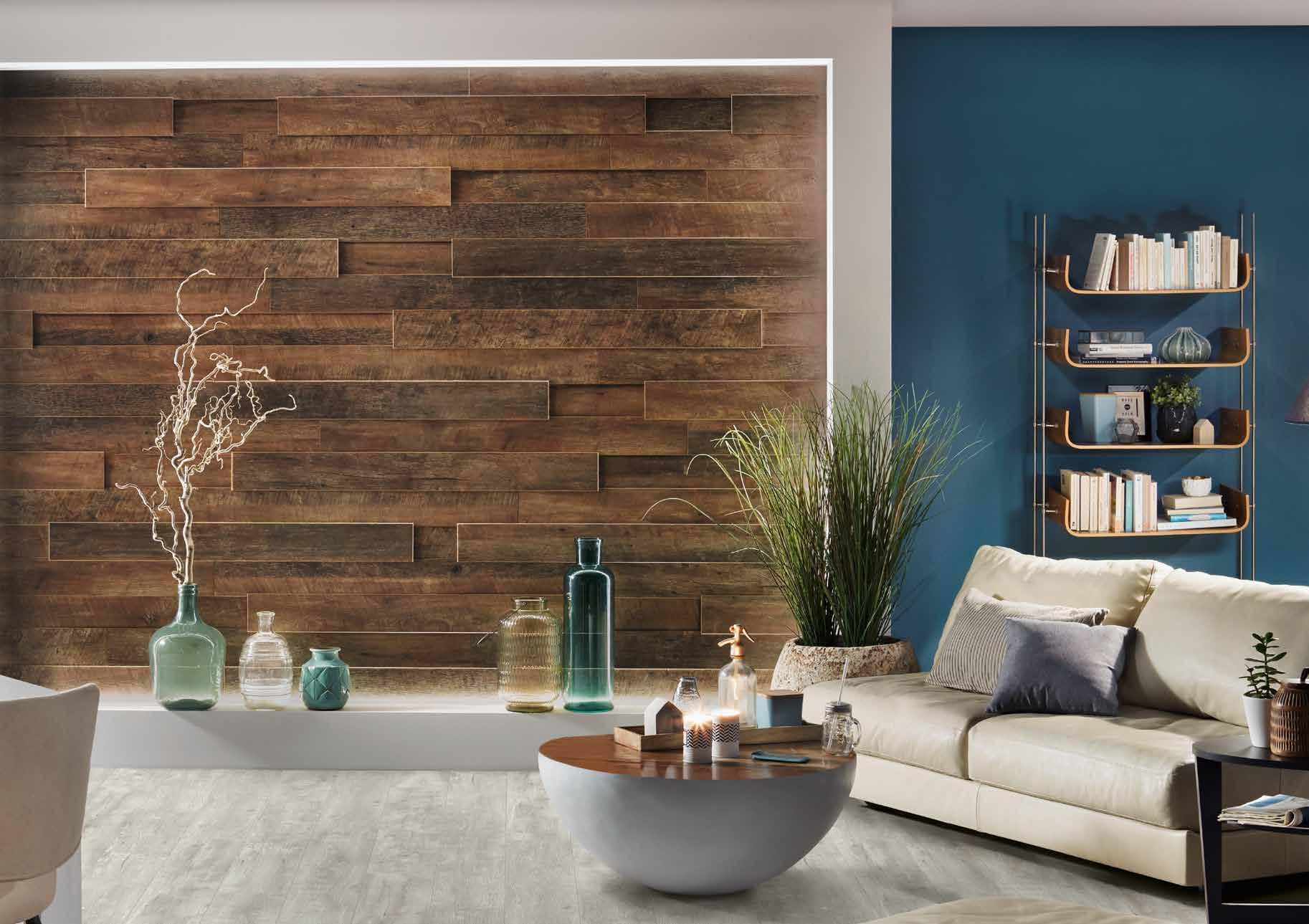 Отделка дома деревом внутри (фото): разные виды материала для стен