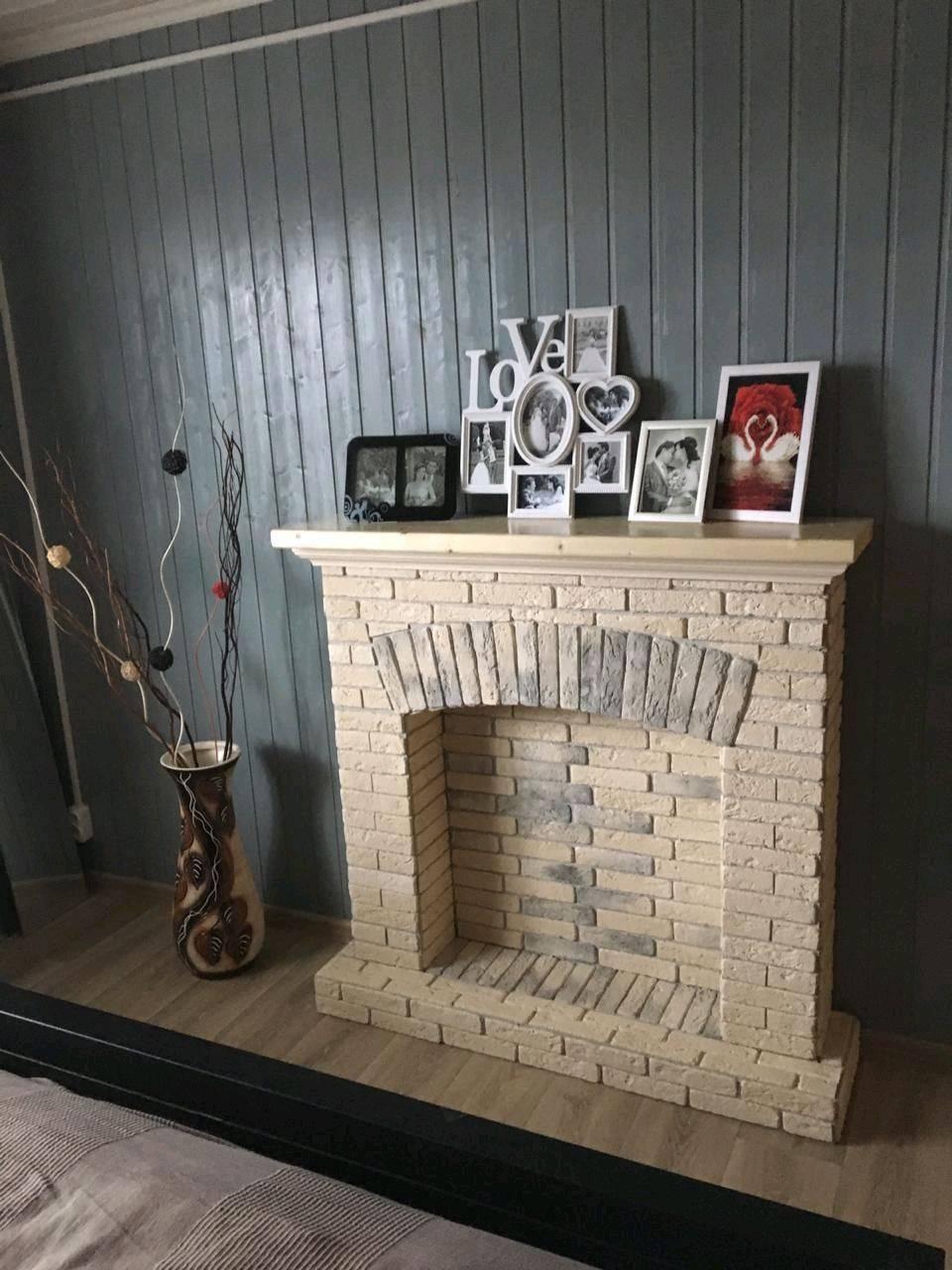 Декоративный камин своими руками для квартиры: пошаговая инструкция
