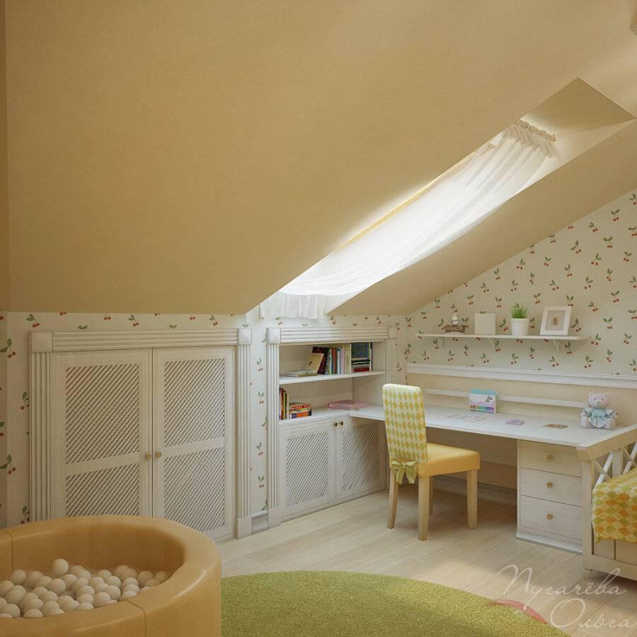Дизайн спальни на мансарде (75 фото) - особенности и рекомендации