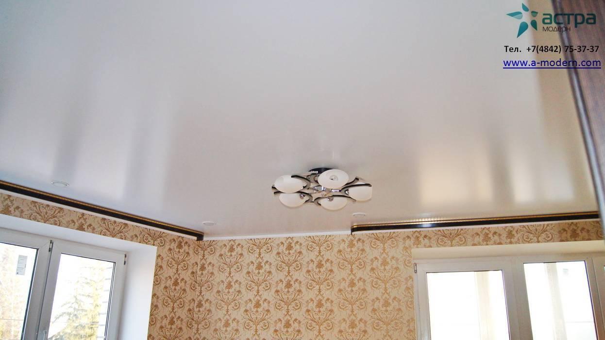 Что такое натяжной сатиновый потолок: 7 плюсов и 5 минусов