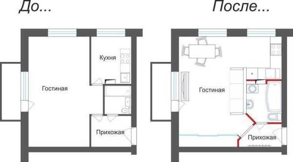 Перепланировка хрущевки 3 комнаты: лучшие варианты на фото
