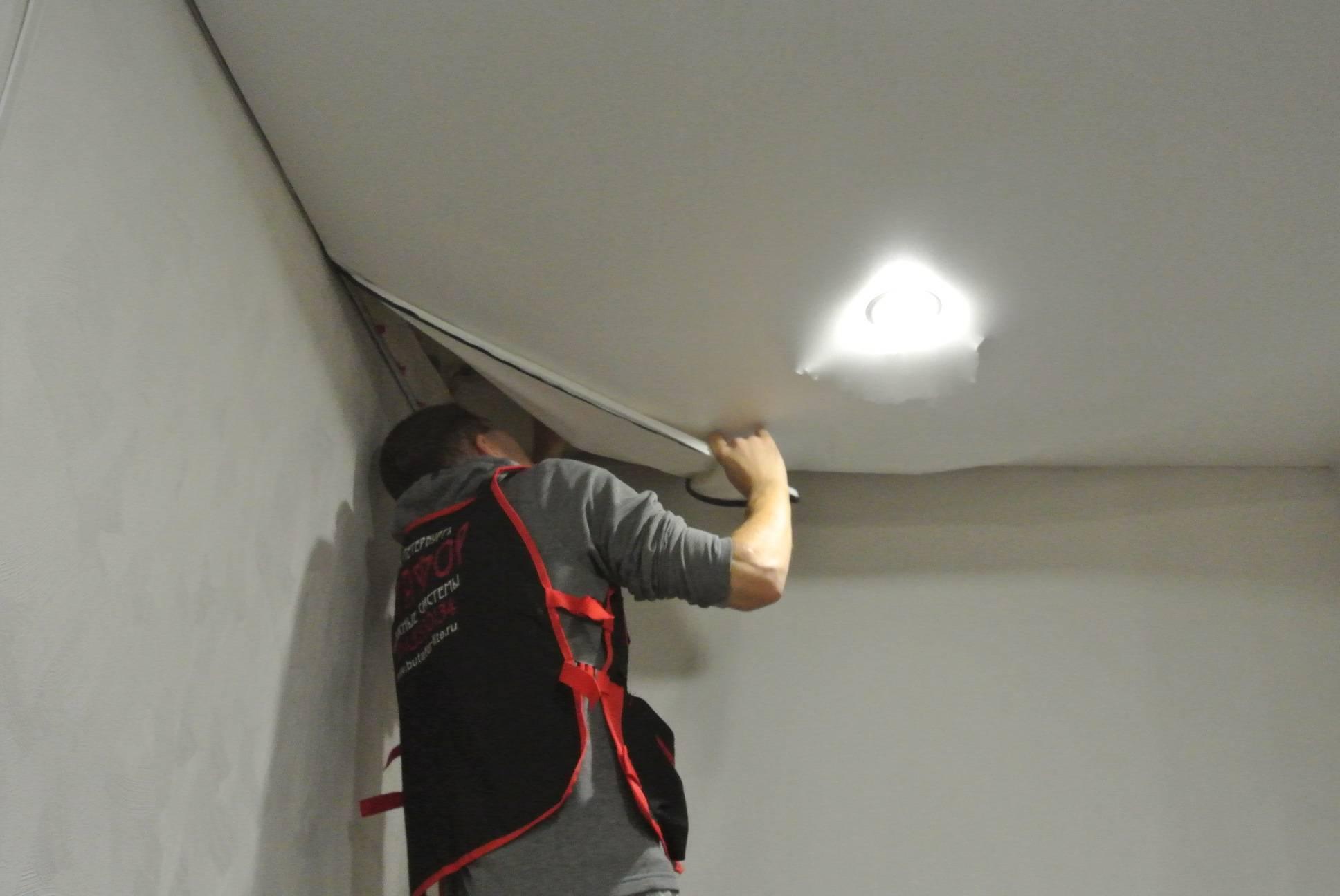 Как разобрать реечный потолок в ванной: видео, снять подвесной и демонтаж своими руками