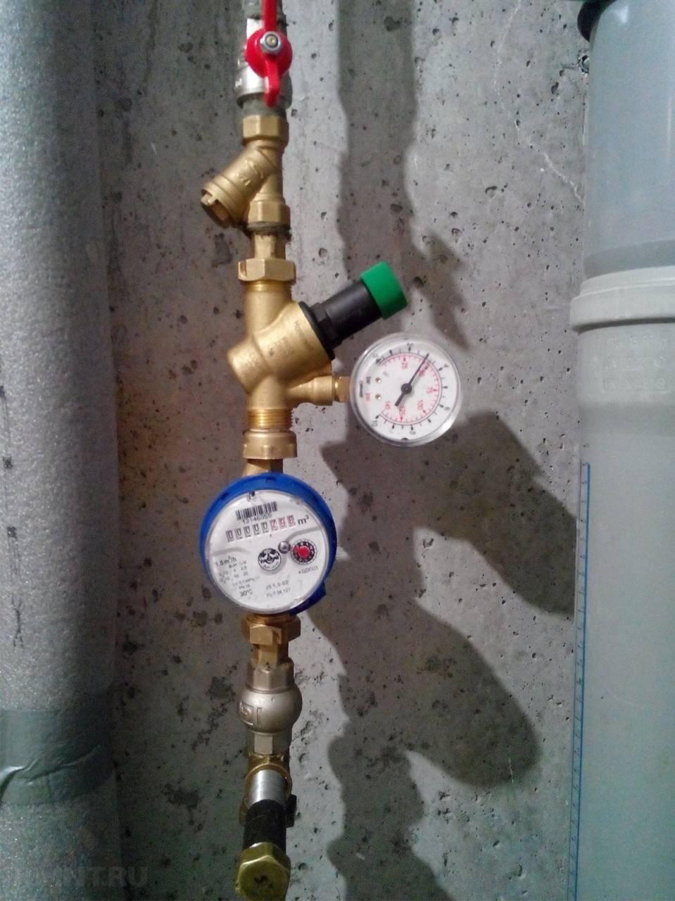 Давление в системе водоснабжения частного дома: нормы