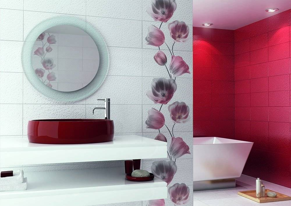 Какую плитку лучше выбрать для ванной комнаты: размер, цвет, дизайн