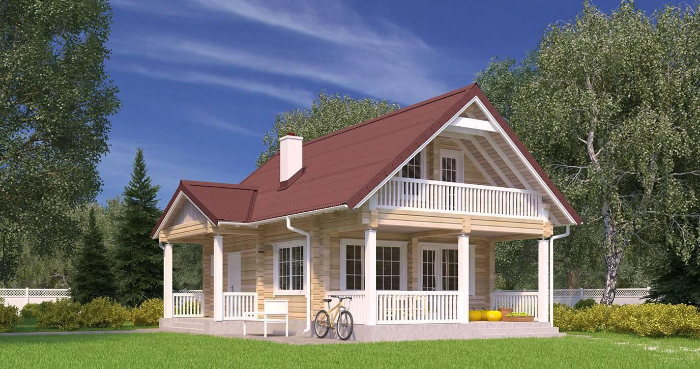 Необычные дачные домики: планировка маленького пространства