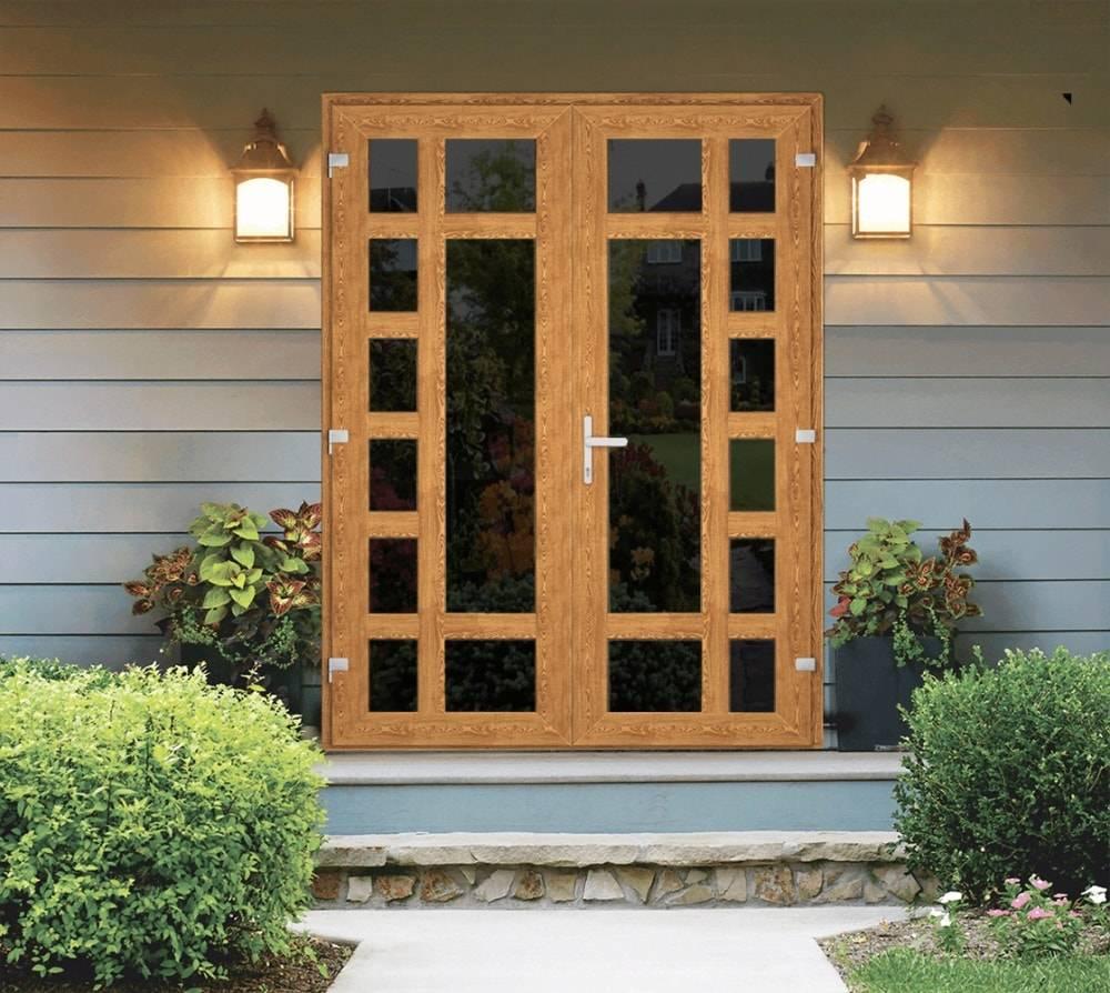 Как выбрать пластиковые входные двери для частного дома — фото, особенности монтажа и варианты дизайна