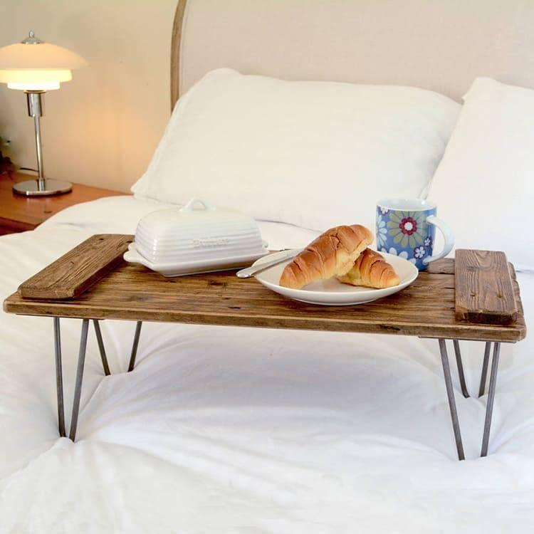 Столик для завтрака в постель своими руками: выбор материалов, пошаговая инструкция по изготовлению | дизайн интерьера