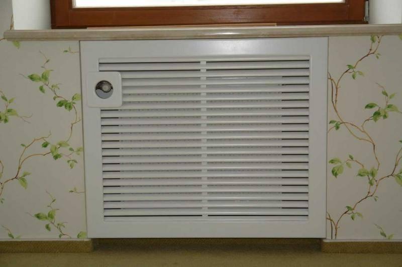 Декоративные экраны на радиаторы отопления