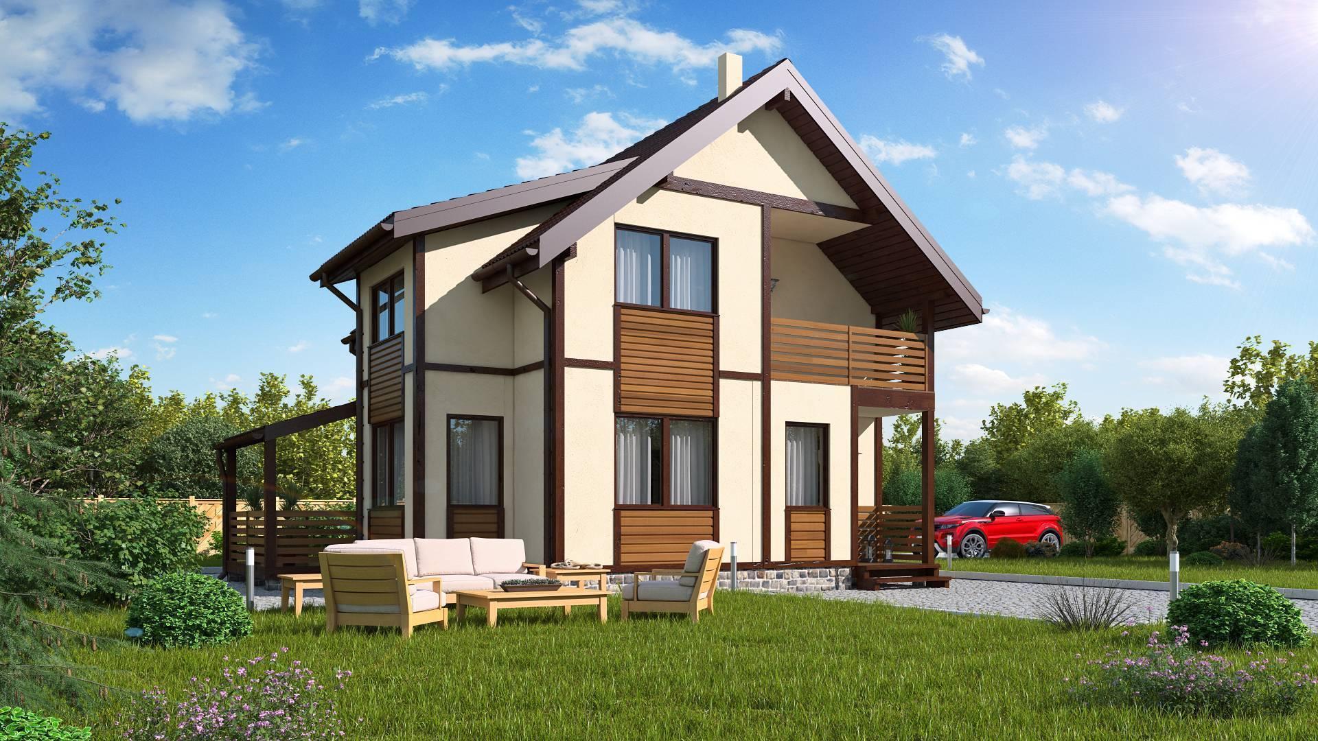 Как выглядит готовый проект дома: пример готового проекта дома в 2 этажа