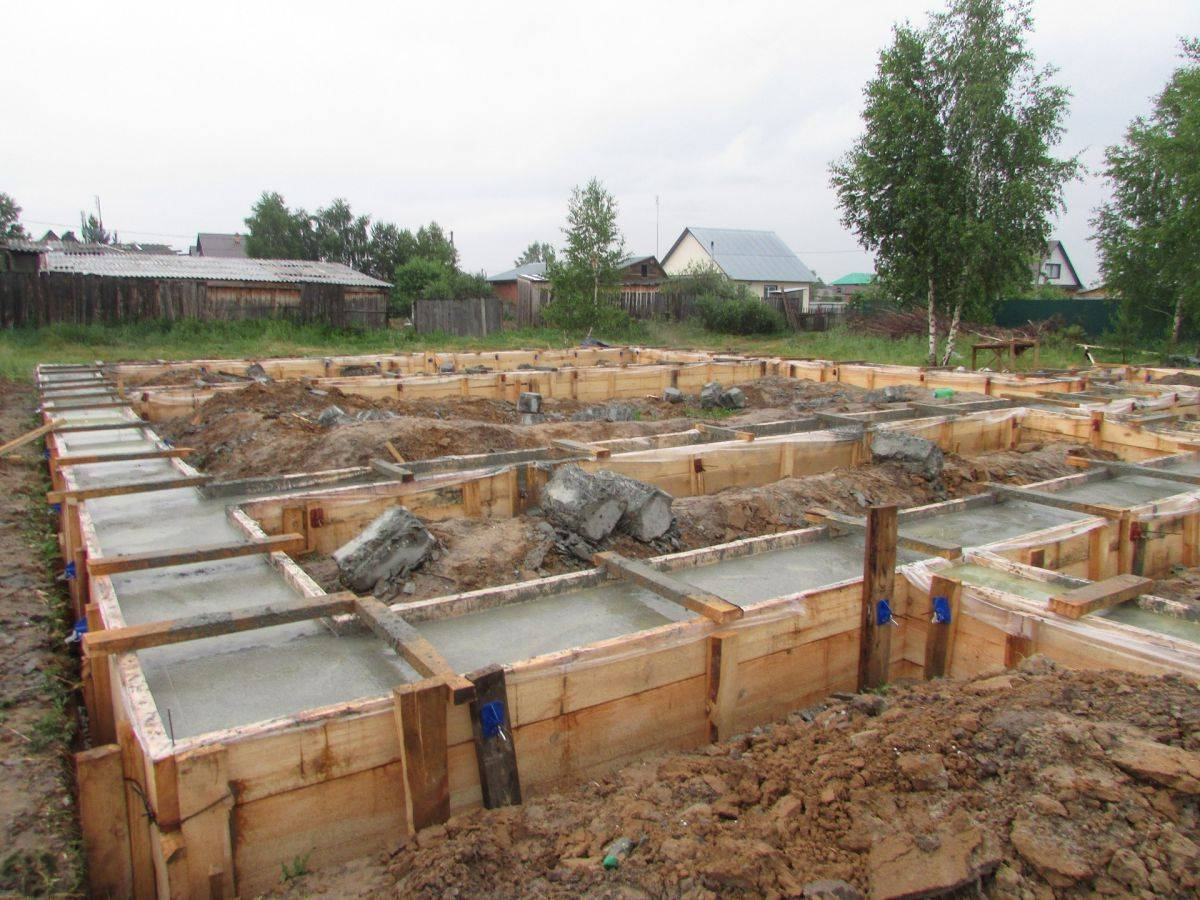 Варианты строительства фундамента на песчаном грунте
