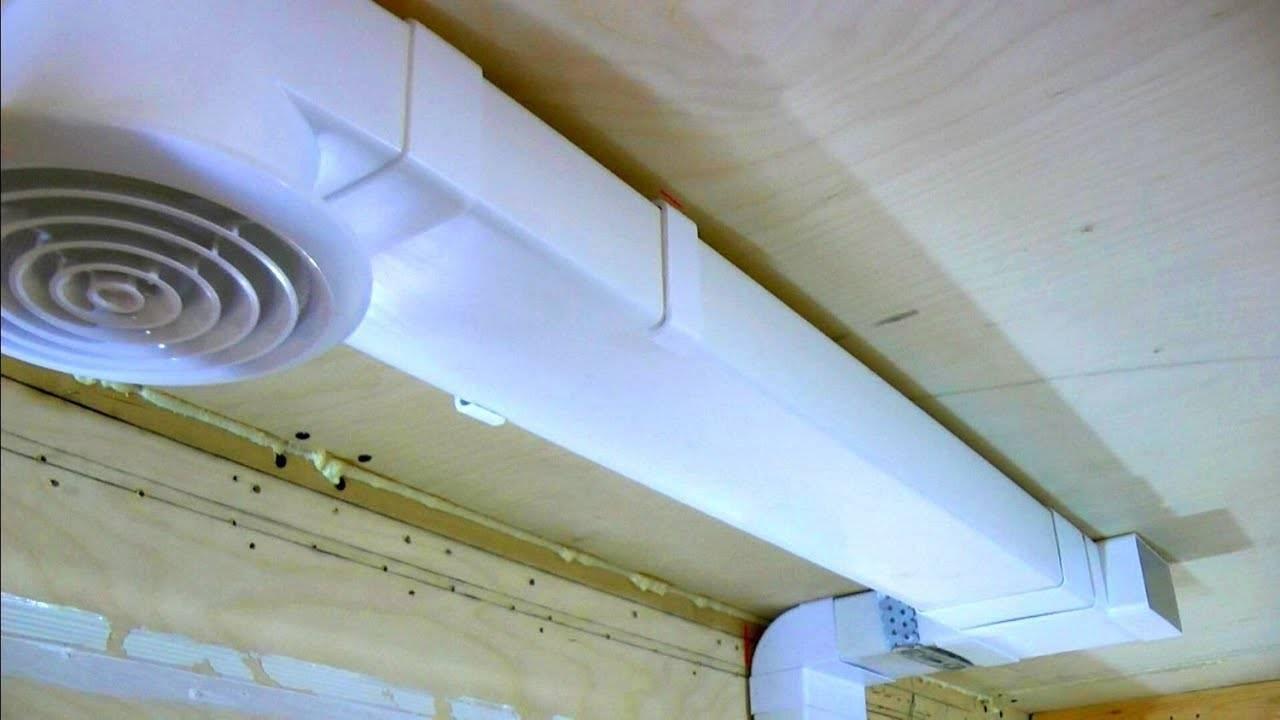 Вентиляционные решетки и вытяжки для натяжных потолков и их установка