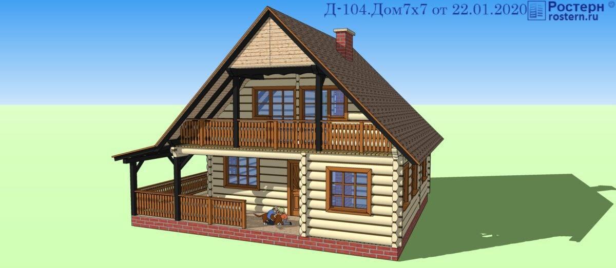 Проекты норвежских домов из лафета: интерьер лафетного дома