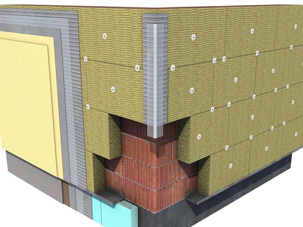 Какой утеплитель лучше выбрать под фасадную штукатурку и как рассчитать толщину утепления