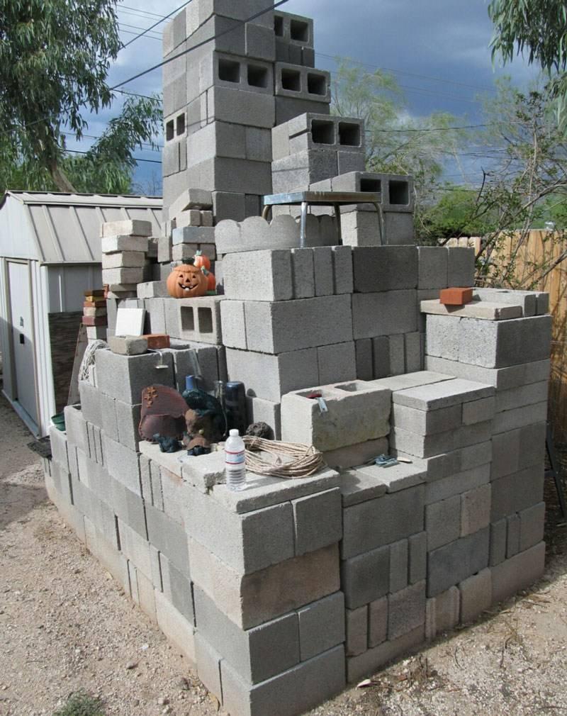 Как построить дом из шлакоблока своими руками. виды блоков, их наполнители и вяжущие элементы. этапы возведения стен из блоков