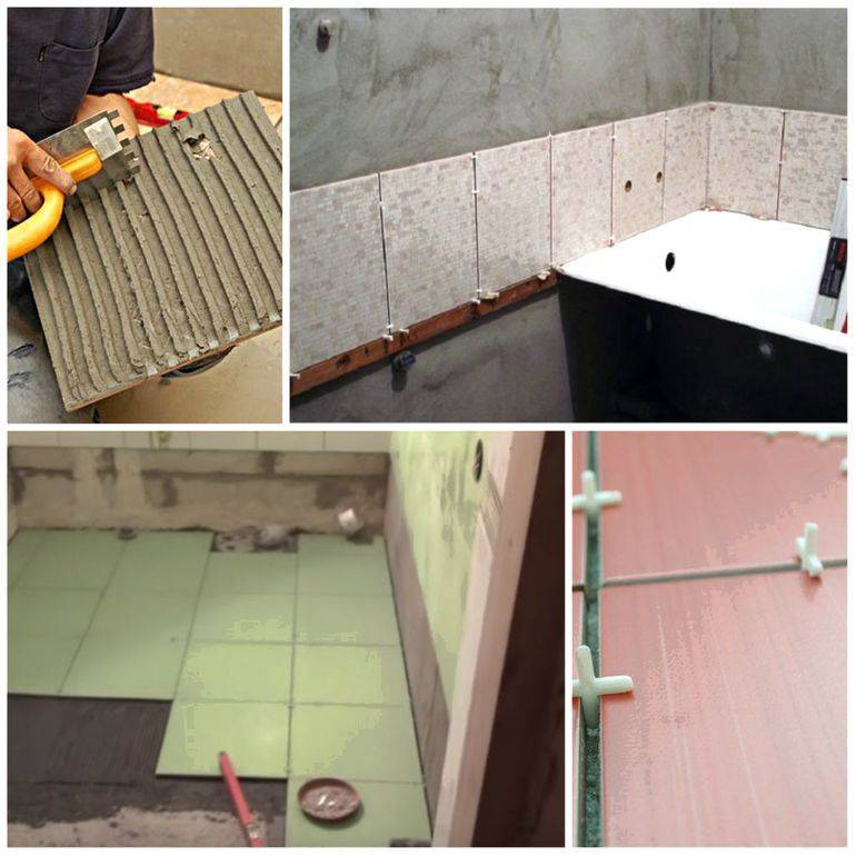Как поклеить потолочную плитку на неровный потолок?