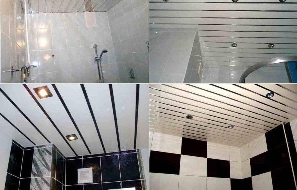 Как правильно сделать потолок в ванной из пластиковых панелей