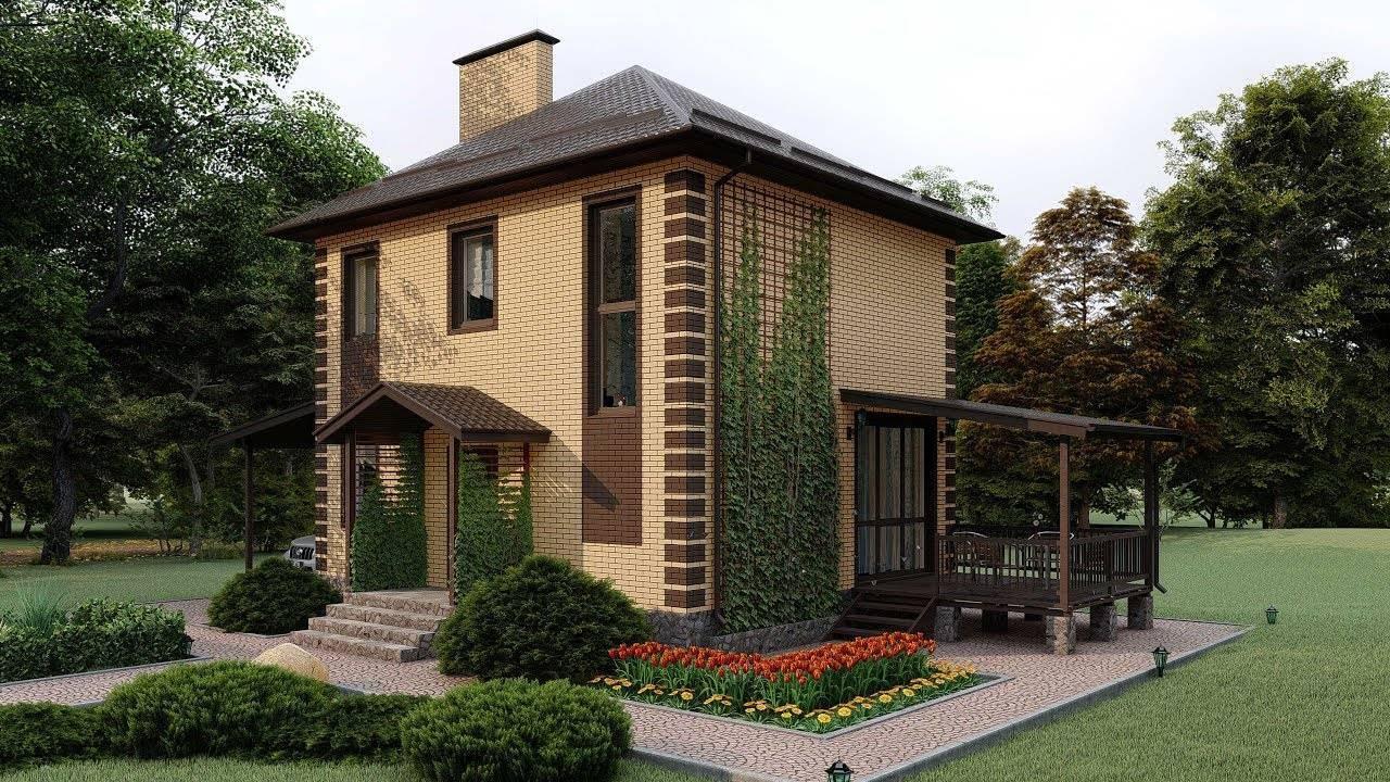 Кирпичные дома маленькие: небольшие проекты из кирпича - домомастер