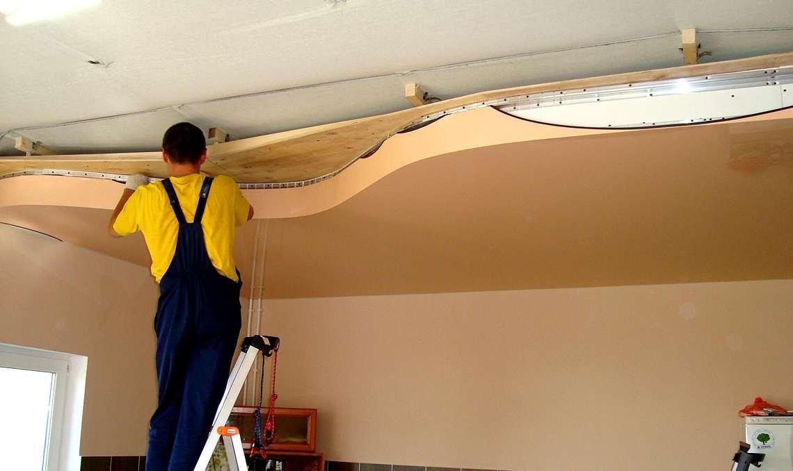 ????монтаж натяжных потолков своими руками и стоимость 1 м2 с установкой - блог о строительстве